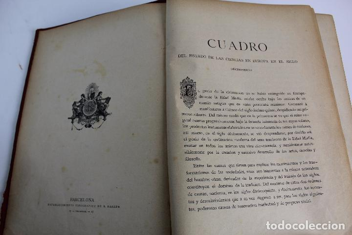 Libros antiguos: L-934. LA CIENCIA Y SUS HOMBRES. POR LUIS FIGUIER. TOMO II.EL RENACIMIENTO J.SEIX,EDITOR. AÑO 1880. - Foto 6 - 88840980