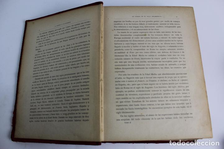 Libros antiguos: L-934. LA CIENCIA Y SUS HOMBRES. POR LUIS FIGUIER. TOMO II.EL RENACIMIENTO J.SEIX,EDITOR. AÑO 1880. - Foto 7 - 88840980