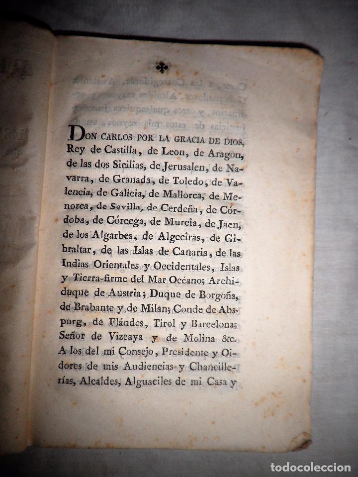 Libros antiguos: REAL ORDENANZA DE SU MAJESTAD·EXERCITO - GERONA AÑO 1800. - Foto 2 - 88878628