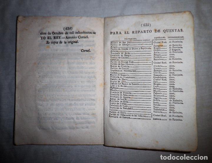 Libros antiguos: REAL ORDENANZA DE SU MAJESTAD·EXERCITO - GERONA AÑO 1800. - Foto 4 - 88878628