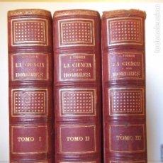Libros antiguos - LA CIENCIA Y SUS HOMBRES - 18XX - FIGUIER - Laminas Cromolitográficas - Completa - 88967720