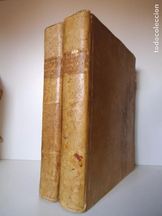 COMPENDIUM SALMANTICENSE - 1787 - PERGAMINO - 2 TOMOS (COMPLETA) (Libros Antiguos, Raros y Curiosos - Pensamiento - Otros)