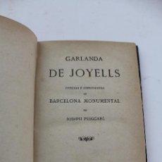 Libros antiguos: L- 401. GARLANDA DE JOYELLS, JOSEPH PUIGGARI. 1879.. Lote 89042160