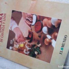 Libros antiguos: LAS MEJORES RECETAS DE COCINA DE CASTILLA Y LEÓN. Lote 89102652