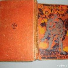Libros antiguos: EL REGRESO DE TARZÁN - EDGAR RICE BURROUGHS -GUSTAVO GILI,EDITOR MCMXXVII. Lote 89147684
