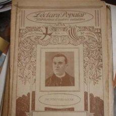 Libros antiguos: EXCURSIONS JACINTO VERDAGUER LECTURA POPULAR - ILUSTRACIÓ CATALANA - PORTAL DEL COL·LECCIONISTA ***. Lote 89189232