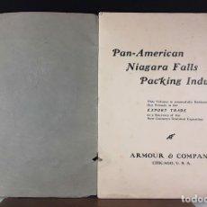 Libros antiguos: PAN-AMERICAN EXPOSITION 1901. BUFFALO N. Y. USA. EDIT. ARMOUR Y COMPANY. . Lote 89254648
