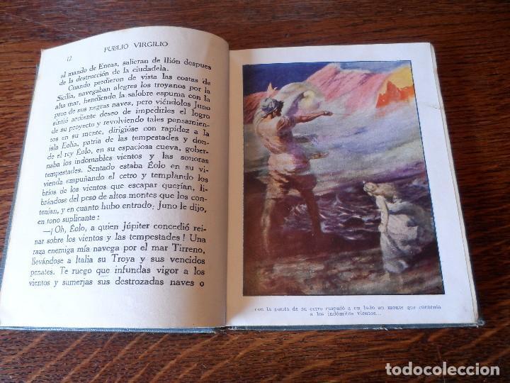 Libros antiguos: LA ENEIDA, RELATADA A LOS NIÑOS, COLECCIÓN ARALUCE, AÑO 1914 - Foto 10 - 89261204
