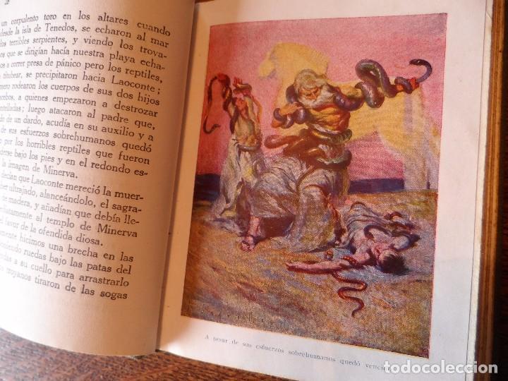 Libros antiguos: LA ENEIDA, RELATADA A LOS NIÑOS, COLECCIÓN ARALUCE, AÑO 1914 - Foto 12 - 89261204