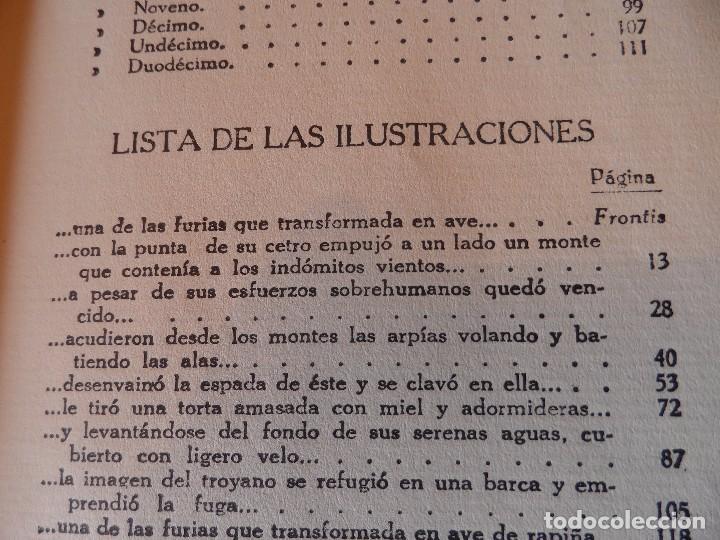 Libros antiguos: LA ENEIDA, RELATADA A LOS NIÑOS, COLECCIÓN ARALUCE, AÑO 1914 - Foto 13 - 89261204