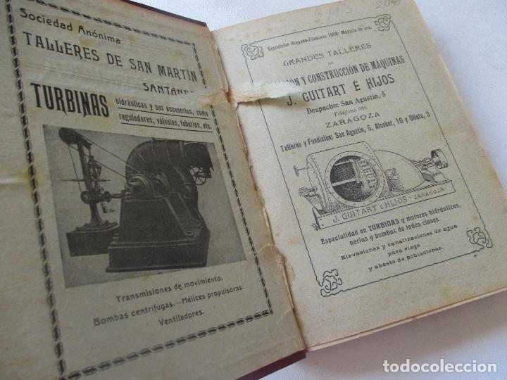 Libros antiguos: BIBLIOTECA DE INGENIERÍA-MANUAL DE HIDRÁULICA-R. BUSQUET-1908- TIPOGRAFÍA DE J. PALACIOS- MADRID - Foto 2 - 89276500