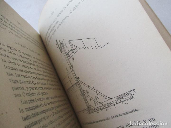 Libros antiguos: BIBLIOTECA DE INGENIERÍA-MANUAL DE HIDRÁULICA-R. BUSQUET-1908- TIPOGRAFÍA DE J. PALACIOS- MADRID - Foto 4 - 89276500