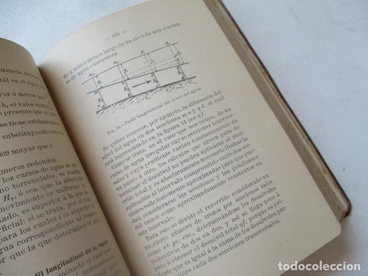 Libros antiguos: BIBLIOTECA DE INGENIERÍA-MANUAL DE HIDRÁULICA-R. BUSQUET-1908- TIPOGRAFÍA DE J. PALACIOS- MADRID - Foto 5 - 89276500