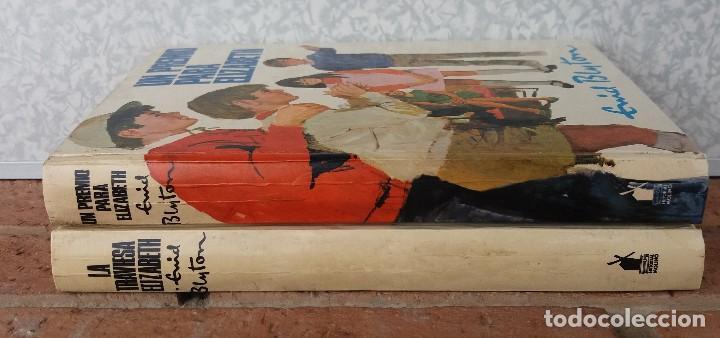 LOTE DE 2 LIBROS DE ENID BLYTON SERIE ELISABETH EN MUY BUEN ESTADO ORIGINALES (Libros Antiguos, Raros y Curiosos - Literatura Infantil y Juvenil - Otros)