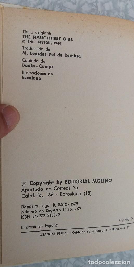 Libros antiguos: LOTE DE 2 LIBROS DE ENID BLYTON SERIE ELISABETH EN MUY BUEN ESTADO ORIGINALES - Foto 3 - 89291552