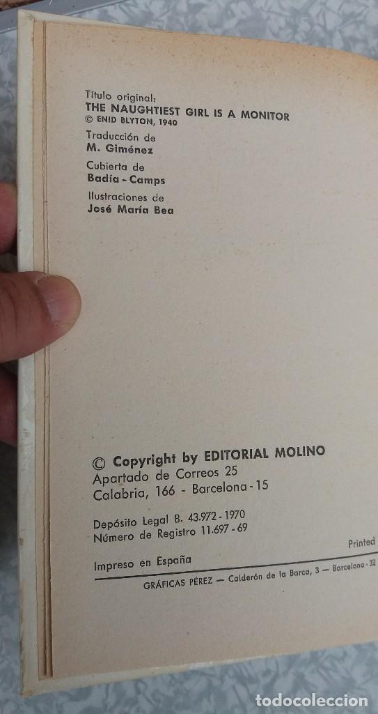 Libros antiguos: LOTE DE 2 LIBROS DE ENID BLYTON SERIE ELISABETH EN MUY BUEN ESTADO ORIGINALES - Foto 4 - 89291552