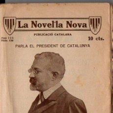 Libros antiguos: PUIG I CADAFALCH : PARLA EL PRESIDENT DE CATALUNYA (1919). Lote 89291872