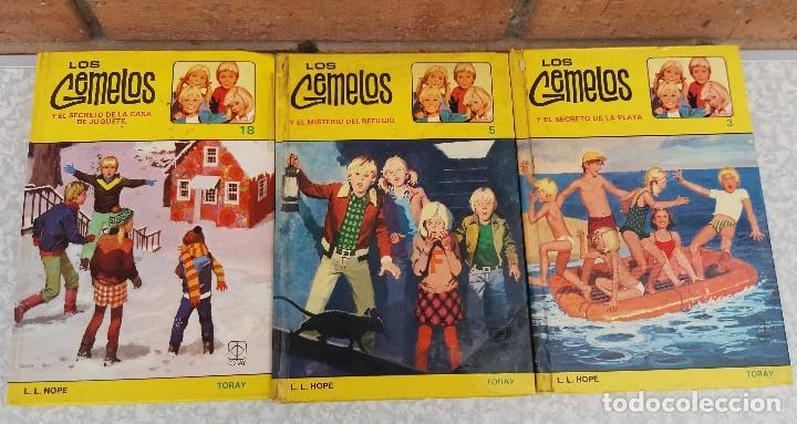 LOTE DE LIBROS DE TORAY SERIE LOS GEMELOS EN BUEN ESTADO ORIGINALES (Libros Antiguos, Raros y Curiosos - Literatura Infantil y Juvenil - Otros)