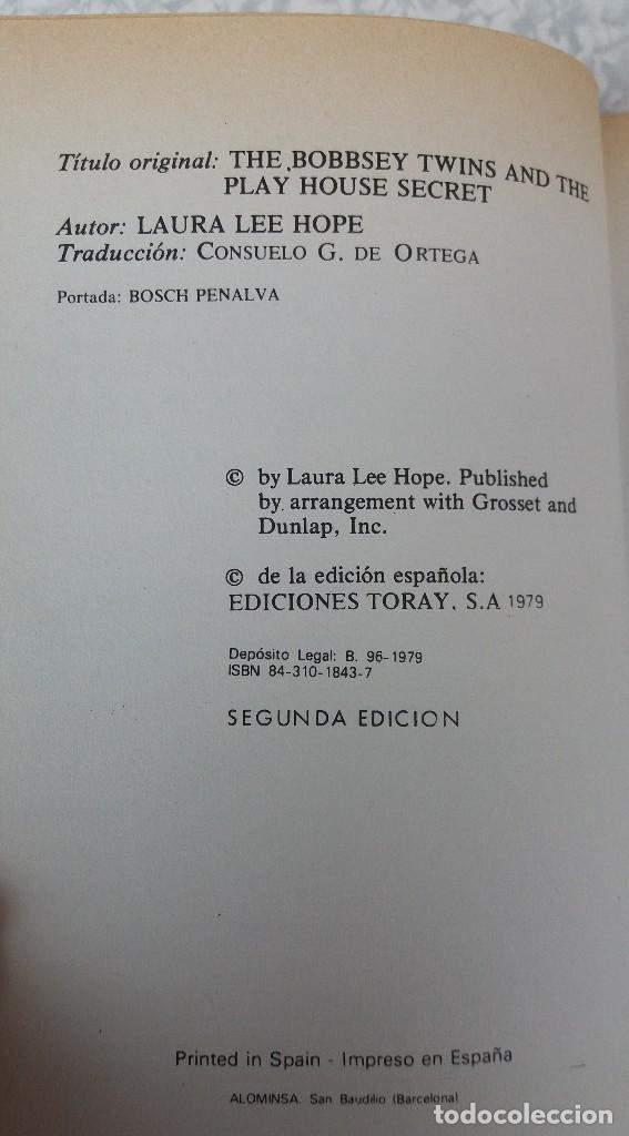 Libros antiguos: LOTE DE LIBROS DE TORAY SERIE LOS GEMELOS EN BUEN ESTADO ORIGINALES - Foto 3 - 89294832