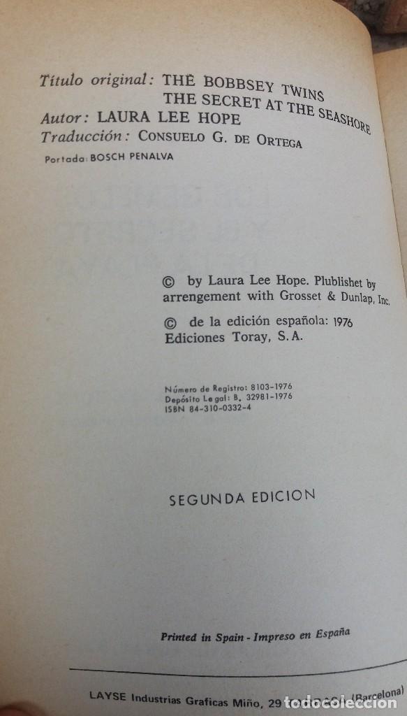 Libros antiguos: LOTE DE LIBROS DE TORAY SERIE LOS GEMELOS EN BUEN ESTADO ORIGINALES - Foto 5 - 89294832