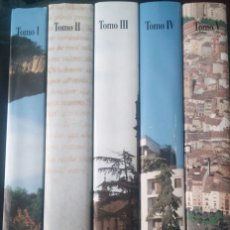 Libros antiguos: HISTORIA DE LA CIUDAD DE LOGROÑO - 5 VOLÚMENES - MUY BUEN ESTADO, COMO NUEVA. Lote 89437980