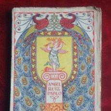 Livres anciens: EL FINAL DE UNA LEYENDA. ÁNGEL RUIZ PABLO. ED. GUSTAVO GILI. 252 PAG.. . VELL I BELL. Lote 89485508