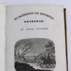 Libros antiguos: L-1945. LAS REVUELTAS DE CATALUÑA O EL BASTARDO DE ENTENÇA. JUAN CORTADA. TOMO II. 1838.. Lote 89561712