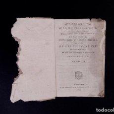 Libros antiguos: COSTUMBRES E HISTORIA ROMANA, MADRID 1823. Lote 89576428