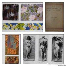 Libros antiguos: ESCUELA DE ARTES Y OFICIOS Y BELLAS ARTES - BARCELONA, 1911 - MEMORIA ANUAL ILUSTRADA - B/N Y COLOR. Lote 89602252