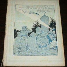 Libros antiguos: EL GEGANT DELS AIRES - ILUSTRACIONES LLAVERIAS - ED. BAGUÑÁ - 1934. Lote 89620860
