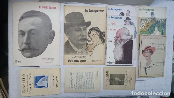 LOTE BENITO PÉREZ GALDÓS: 8 NOVELAS + 3 EXTRAS (Libros antiguos (hasta 1936), raros y curiosos - Literatura - Narrativa - Otros)