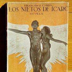 Libros antiguos: LOS NIETOS DE ICARO - FRANCISCO CAMBA - RENACIMIENTO 2ª EDICIÓN - AVIACIÓN. Lote 89662044