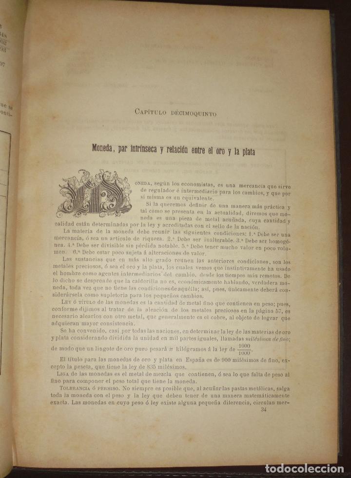 Libros antiguos: TRATADO COMPLETO DE CONTABILIDAD MERCANTIL INDUSTRIAL Y ADMINISTRATIVA. TOMO III. 1885. BARCELONA. - Foto 3 - 89729096