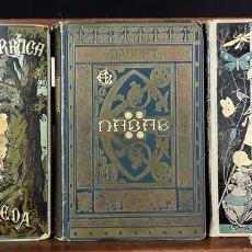 Libros antiguos: BIBLIOTECA ARTE Y LETRAS. 3 EJEMPLARES. VARIOS AUTORES. 1881/1882.. Lote 89752380