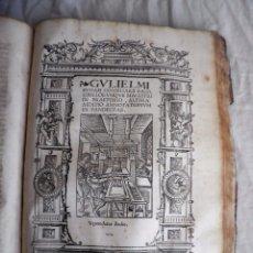 Libros antiguos: ANNOTATIONES PANDECTARUM - POSTINCUNABLE AÑO 1532 - BUDAEUS - PERGAMINO.. Lote 89754528