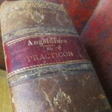 EL PRACTICON·TRATADO COMPLETO DE COCINA - ANGEL MURO - AÑO 1898 - ILUSTRADO.