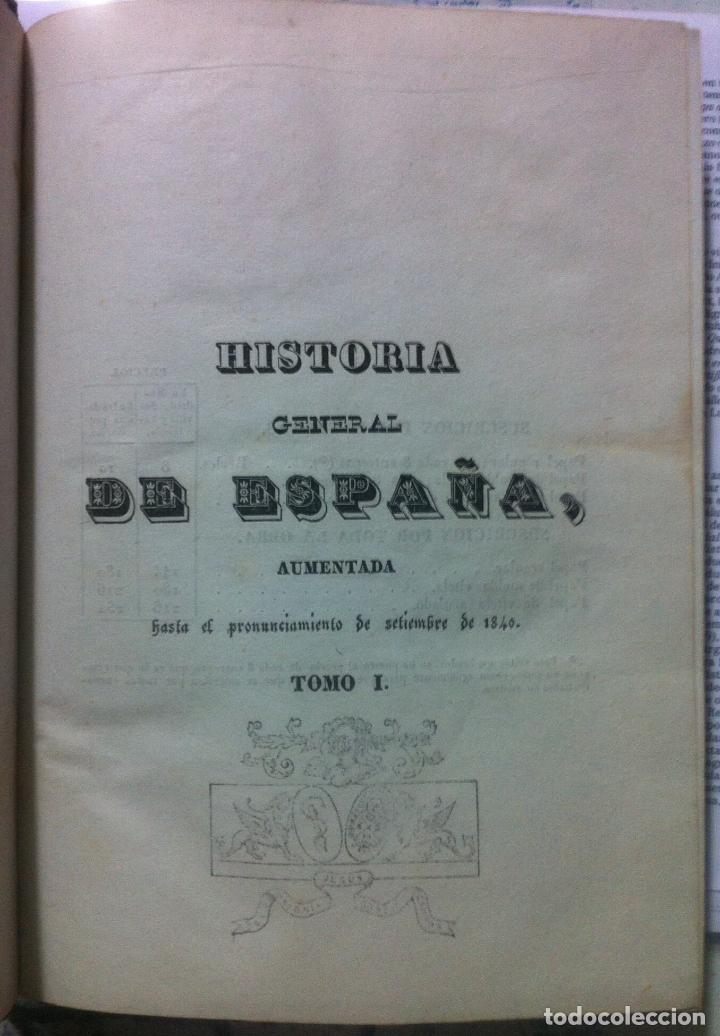 Libros antiguos: Juan de Mariana. Historia de España. 1841 - Foto 3 - 89874324