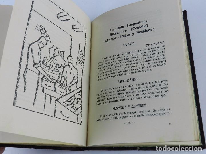 Libros antiguos: LIBRO DE BELEAK, Imanol, EL LIBRO DEL PESCADO. AÑO 1933, Las mejores recetas de Cocina Vasca, Cocina - Foto 3 - 89938820