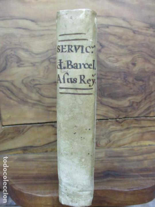 Libros antiguos: MANIFESTACION EN QUE SE PUBLICAN MUCHOS Y RELEVANTES SERVICIOS Y NOBLES HECHOS... 1794. - Foto 2 - 90037696