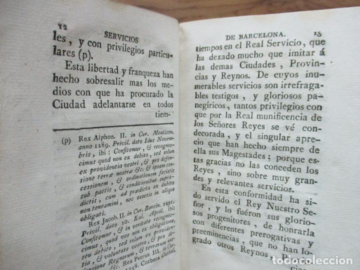 Libros antiguos: MANIFESTACION EN QUE SE PUBLICAN MUCHOS Y RELEVANTES SERVICIOS Y NOBLES HECHOS... 1794. - Foto 3 - 90037696