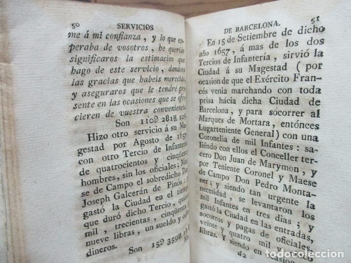 Libros antiguos: MANIFESTACION EN QUE SE PUBLICAN MUCHOS Y RELEVANTES SERVICIOS Y NOBLES HECHOS... 1794. - Foto 4 - 90037696
