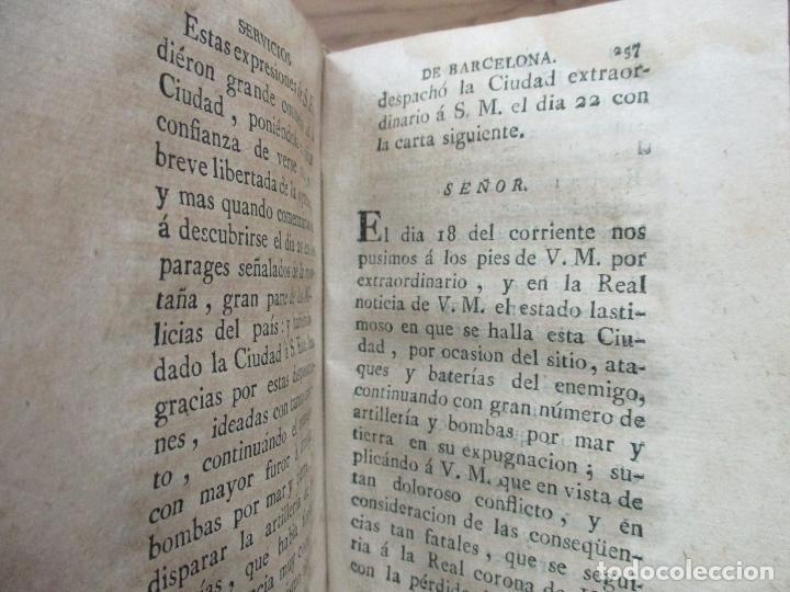 Libros antiguos: MANIFESTACION EN QUE SE PUBLICAN MUCHOS Y RELEVANTES SERVICIOS Y NOBLES HECHOS... 1794. - Foto 6 - 90037696
