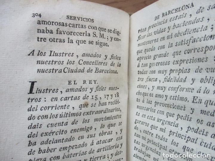 Libros antiguos: MANIFESTACION EN QUE SE PUBLICAN MUCHOS Y RELEVANTES SERVICIOS Y NOBLES HECHOS... 1794. - Foto 7 - 90037696