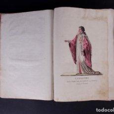 Libros antiguos: TRAGES DE LAS ORDENES RELIGIOSAS Y MILITARES DE TODO EL MUNDO, SOBRE 1788. Lote 90102052