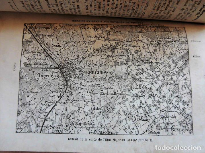 Libros antiguos: PREMIÈRES NOTIONS SUR LA LECTURE DES CARTES TOPOGRAPHIQUES (1876) - ILUSTRADO CON MÚLTIPLES GRABADOS - Foto 5 - 90149996