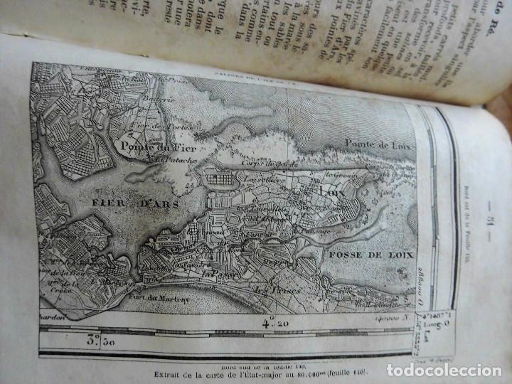 Libros antiguos: PREMIÈRES NOTIONS SUR LA LECTURE DES CARTES TOPOGRAPHIQUES (1876) - ILUSTRADO CON MÚLTIPLES GRABADOS - Foto 6 - 90149996
