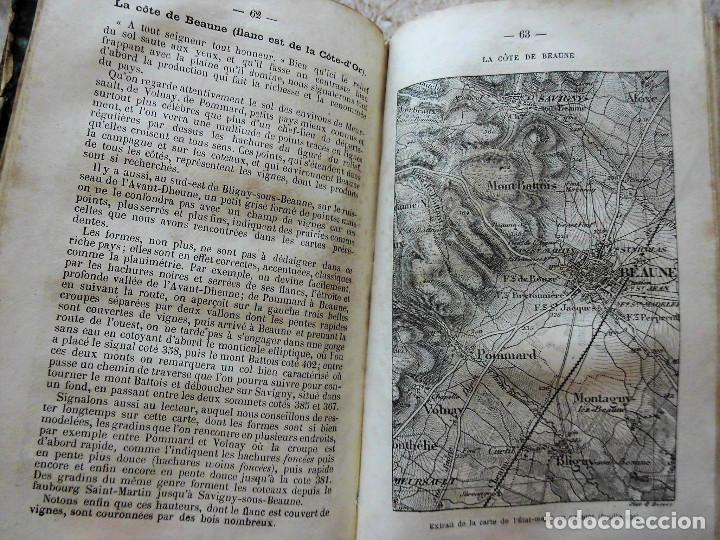 Libros antiguos: PREMIÈRES NOTIONS SUR LA LECTURE DES CARTES TOPOGRAPHIQUES (1876) - ILUSTRADO CON MÚLTIPLES GRABADOS - Foto 9 - 90149996