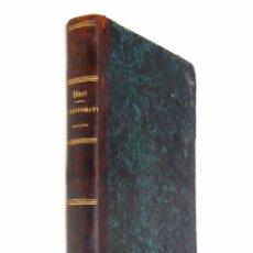 Libros antiguos: 1867 - LITERATURA INFANTIL - CUENTOS - POESÍA - ANTOLOGÍA DE LITERATURA INFANTIL FRANCESA - S. XIX. Lote 108040640
