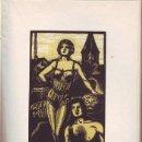 Libros antiguos: HALMA ANGELICO : LA DESERTORA Y OTROS CUENTOS. DIBUJOS EN MADERA POR R. MANCHÓN. 1ª ED. 1932. Lote 90214172