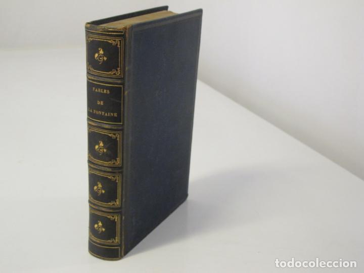 FABLES DE LA FONTAINE. ILLUSTRATIONS PAR GRANDEVILLE. PARIS, GARNIER FRÈRES ED. 1864 (Libros antiguos (hasta 1936), raros y curiosos - Literatura - Narrativa - Otros)